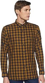 Allen Solly Men's Geometric Print Regular fit Casual Shirt