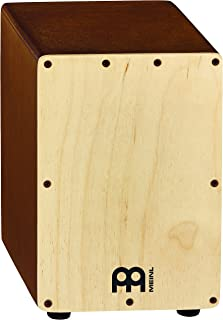 Meinl Percussion Mini Cajon Box Drum with Internal Snares - MADE IN EUROPE - Baltic Birch Wood, 2-YEAR WARRANTY, Natural (SCAJ1LB-NT)