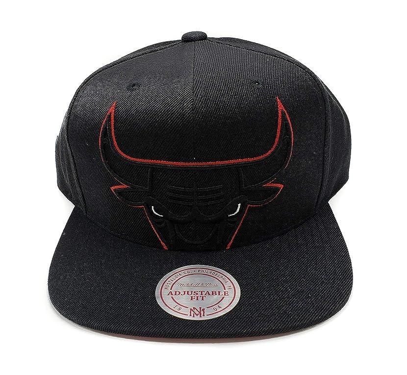 Mitchell & Ness Men's NBA Cropped XL Logo Snapback Cap