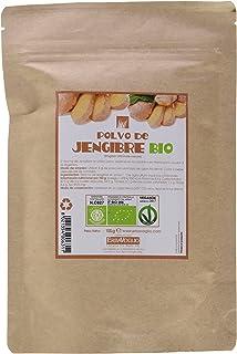 Erbavoglio Polvo de Jengibre - 3 Paquetes de 100 gr - Total: 300 gr