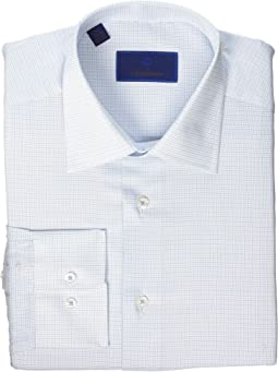 Regular Fit Mini Basket Check Dress Shirt