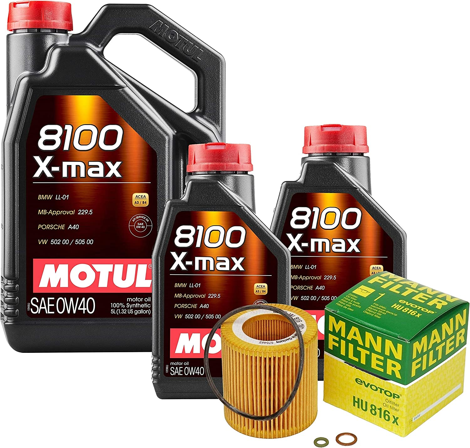 7L 8100 Xmax 0W40 Spring new work Max 69% OFF Filter Motor 5 Change Kit Oil F10 ActiveHybrid
