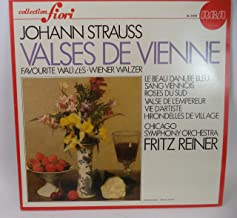 Johann Strauss : Valses De Vienne - Favorite Waltzes