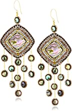 product image for Miguel Ases Abalone Multi-Drop Earrings