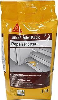 Sika Minipack Mortero de Reparación, Mortero de reparación listo para su uso, 5kg, Gris