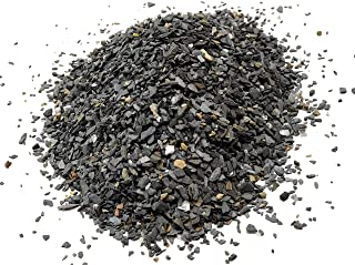 Natural Slate Stone - Less Than 1/8 inch Slate Gravel for Miniature or Fairy Garden, Aquarium, Model Railroad & Wargaming 8oz