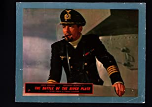 MOVIE POSTER: THE BATTLE OF THE RIVER PLATE-LOBBY CARD-1956 VG