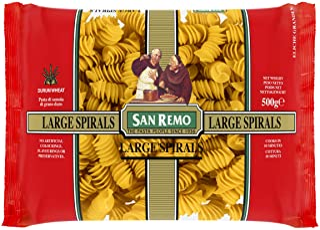 San Remo San Remo Large Spirals, 500 g, No Flavor