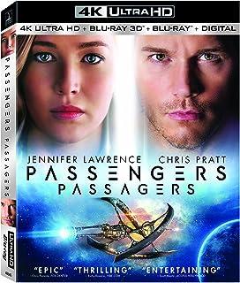 Passengers (2016) Bilingual (3 Discs) - 4K UHD 3D [Blu-ray]