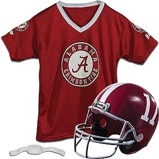 Kids College Football Uniform Set - NCAA Youth Football Uniform Costume - Helmet, Jersey & Pants Set - Youth M