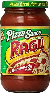 Ragu Pizza Sauce, Homemade Style, 14 oz