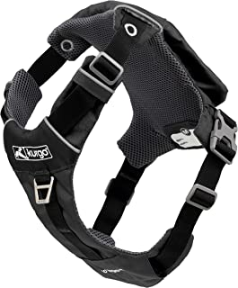 Kurgo Stash n' Dash Dog Harness, Lightweight Vest Harness for Dogs, Pet Harness with Pocket, Folds into a Pouch, for Runni...