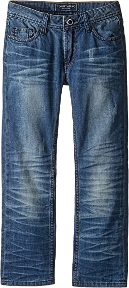 Toobydoo Blue Denim Jeans in Denim (Toddler/Little Kids/Big Kids)