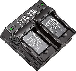 BM 2 EN-EL19 Batteries & Dual Battery Charger for Nikon Coolpix A300, W100, W150, S3100, S3200, S3300, S3500, S3600, S3700, S4100, S4200, S4300, S5200, S5300, S6400, S6500, S6800, S6900, S7000 Cameras