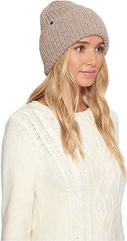 Cardi Stitch Oversized Cuff Hat