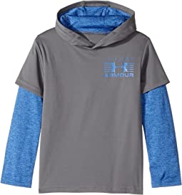 Under Armour Kids - Training Hoodie Slider (Little Kids/Big Kids)