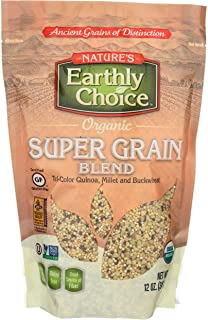 Nature's Earthly Choice Organic Super Grain Blend, 12 Ounce