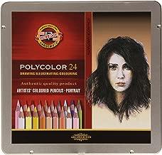 Koh-i-noor Polycolor 24 Artists' Coloured Pencils 3824/14 Portrait
