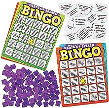 Fun Express - Parts of Speech Premium Bingo Game - Educational - Teaching Aids - Language Arts - 675 Pieces