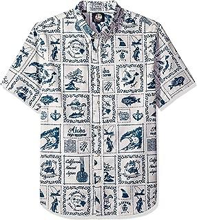 Reyn Spooner Men's Stories from The East Spooner Kloth Tailored Hawaiian Shirt