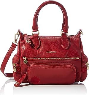 Desigual Women's ACCESSORIES PU ACROSS BODY BAG, red, U U