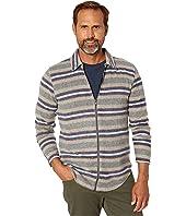 Joel Portland Stripe Zip Shirt Jacket