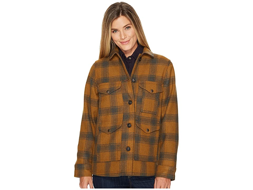 1940s Style Coats and Jackets for Sale Filson Lined Seattle Cruiser Jacket CiderCharcoal Womens Coat $450.00 AT vintagedancer.com