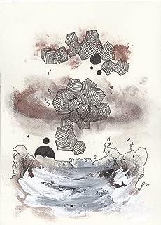 SESUNABRANDO 「To the air」 COLOR PRINT B4 サイズ