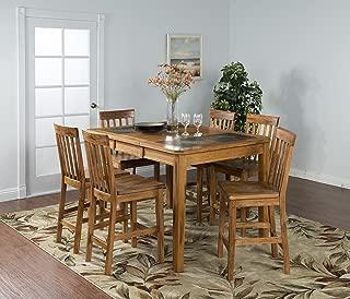 Sunny Designs Sunny Deigns Sedona Extension Table with Slate Top - Oak
