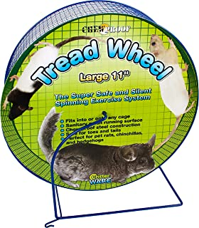 Ware Manufacturing Metal Small Pet Tread Exercise Wheel, Large