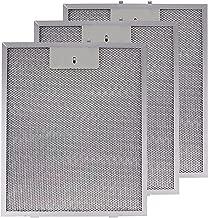 Spares2go Malla Metálica Filtro para Cooke & Lewis/B & Q/cata campana extractor ventilación (Pack de 3 filtros, Plata, 320 x 260 mm)