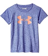 Under Armour Kids - Glitter Big Logo Short Sleeve (Toddler)