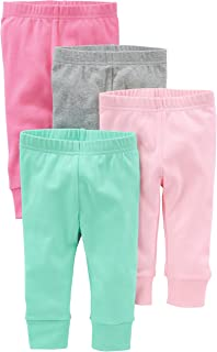 Simple Joys by Carter's Bébé fille Legging, Lot de 4
