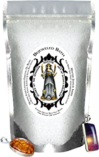 Goddess Hecate Healing Elixir Lavender Essential Oil Bath Salts & Jewelry Inside