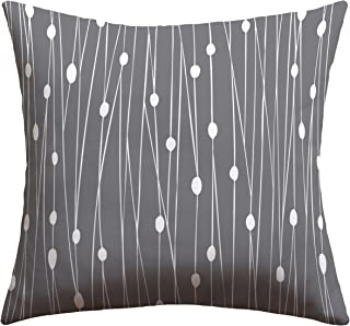 Deny Designs Heather Dutton Gray Entangled Outdoor Throw Pillow, 20 x 20