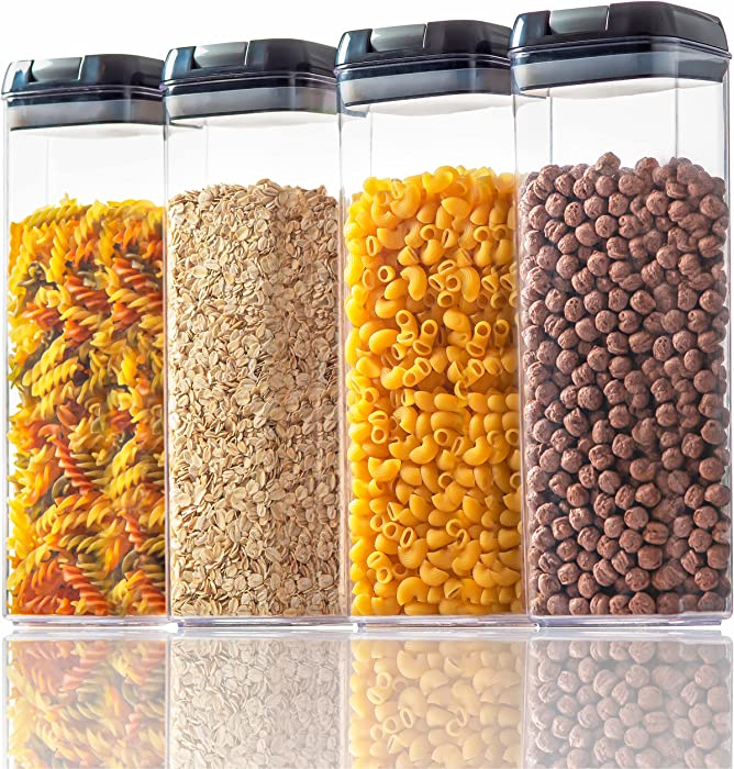 Updated 2021 – Top 10 Hangoes Airtight Cereal  Dry Food S
