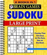 Brain Games – 2 Books in 1 – Sudoku (Large Print) PDF