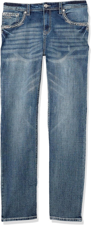 Grace in LA Women's Curvy Plus Size Straight Leg Jean