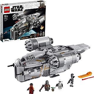 LEGO 75292 Star Wars le Vaisseau du Chasseur de Primes Mandalorian Jouet Spatial avec la Figurine de l'Enfant