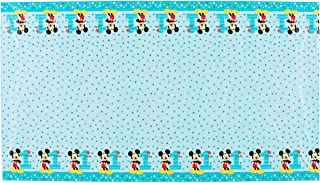 """amscan""""571833 Disney Mickey's""""""""Fun to be One"""""""" Plastic Table Cover, Birthday 54"""""""" x 96"""""""" 1 ct"""", multicolor"""