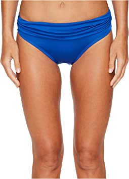 Jantzen - Solid Shirred Waist Bottom