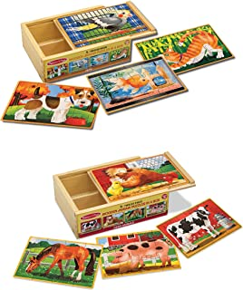 Best wooden animal puzzles for kids Reviews