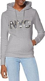 Superdry VL NYC Photo Hood Sudadera con Capucha para Mujer