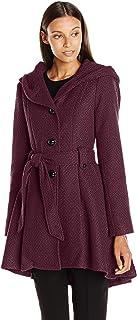 Women's Single Breasted Wool Coat