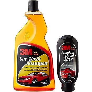 3M Combo of Shampoo (1 L) Liquid Wax