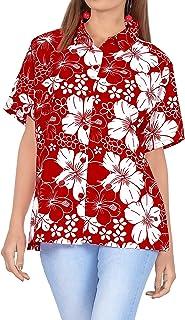LA LEELA Donne Rayon Kaftan Tunica Ricamato chimono Stile più Dimensione Caftano Vestito per Loungewear Vacanze Indumenti ...