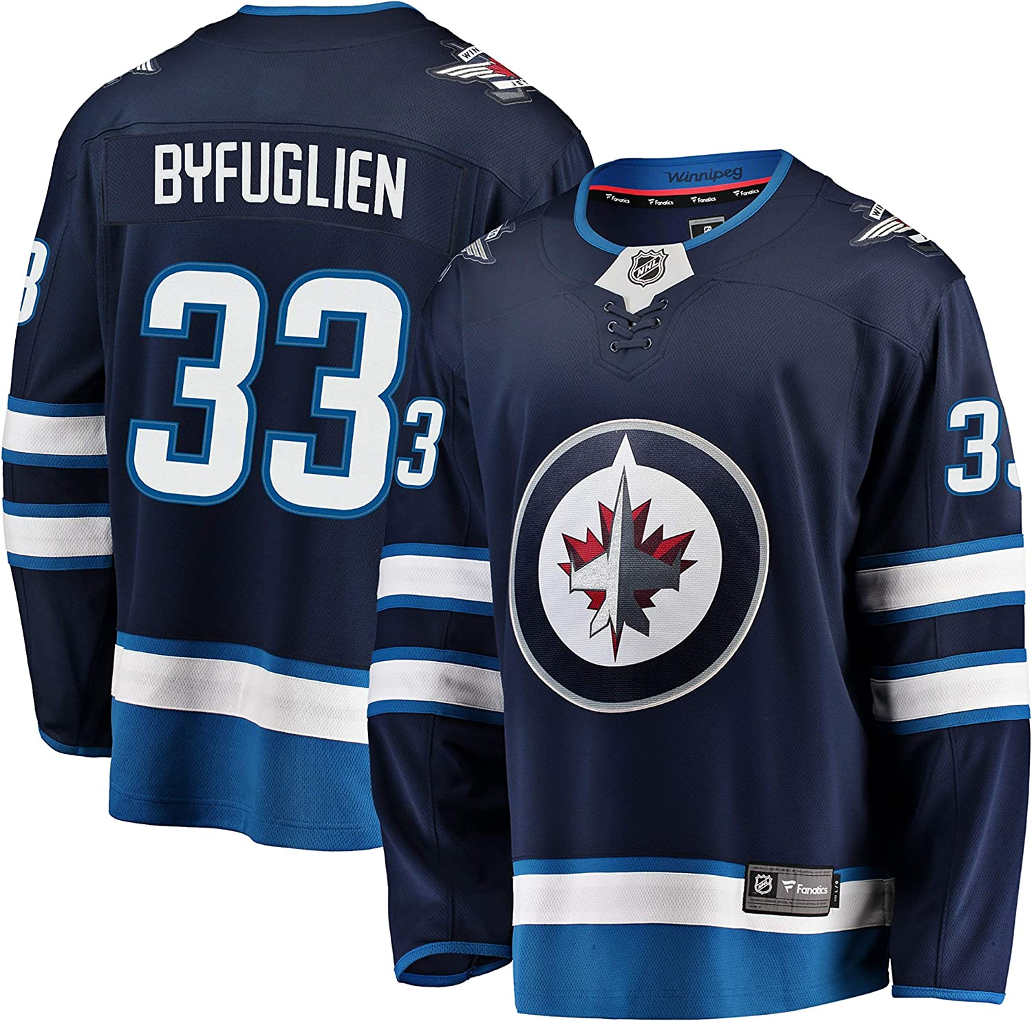76d31d8a Byfuglien Winnipeg Jets NHL Fanatics Breakaway Home Jersey Dustin ...