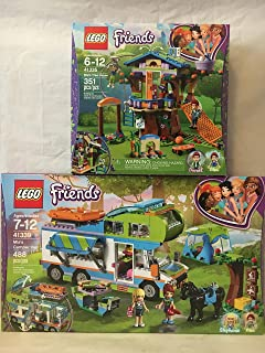 LEGO Friends Mia's Camper Van & LEGO Friends Mia's Tree House