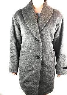 Derek Lam 10 Crosby Ladies' Two Button Wool Coat (Grey, Medium)