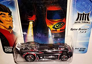 Hot Wheels SPINE BUSTER Die-Cast Car AcceleRacers / Metal Maniacs 7 of 9 / 2004